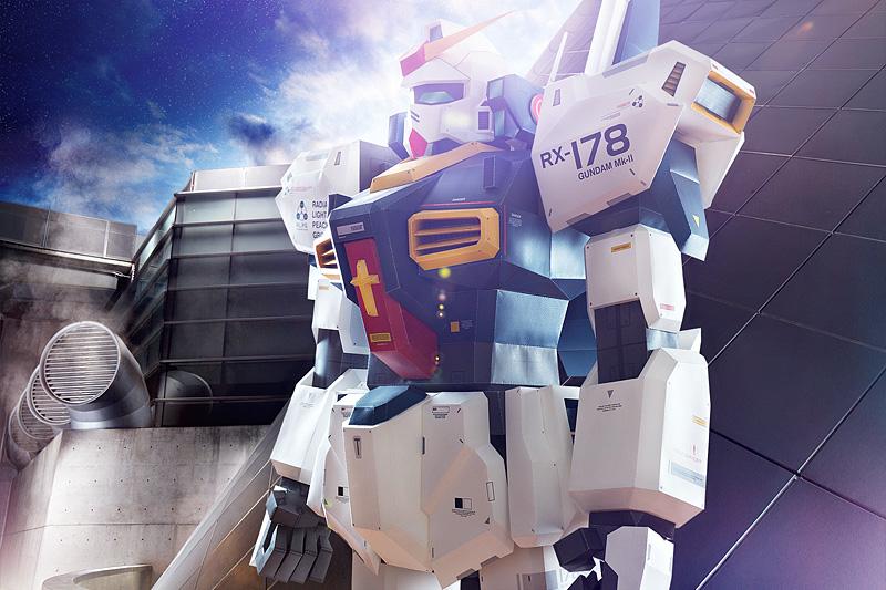 Paper Gundam Side Shot