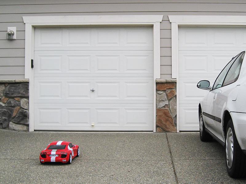 Papercraft Audi R8