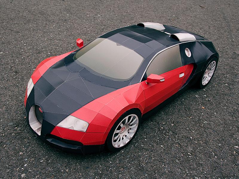 Visual Spicer Bugatti Veyron