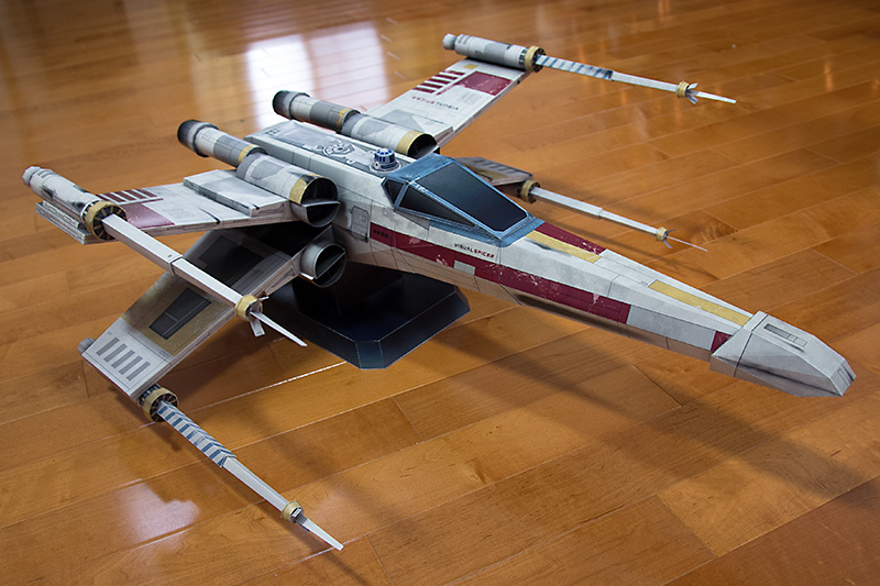 Starfighter Made of Paper
