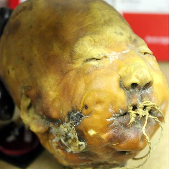 Chinese shrunken head