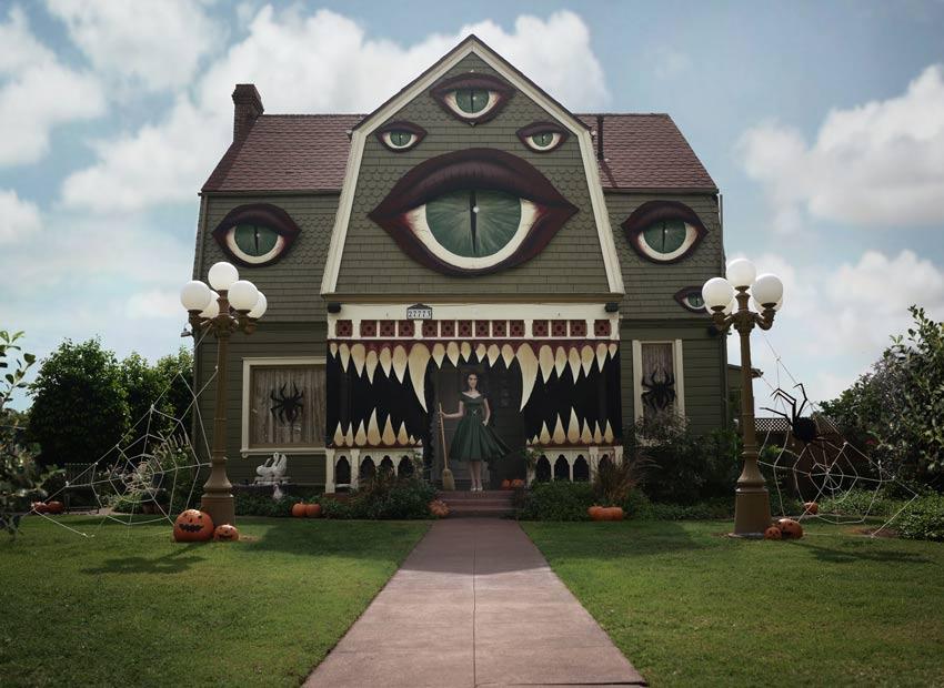 Monster House In Daylight