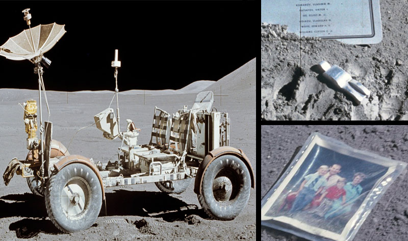 Moon Junk Over 70 Things We Left On The Moon