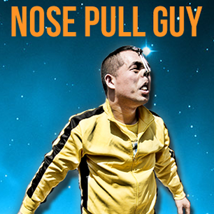 nose pull guy