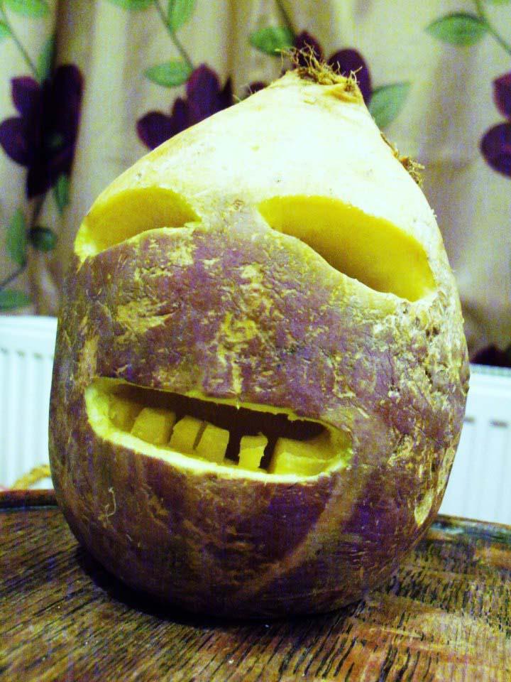 turnip-jack-o-lantern
