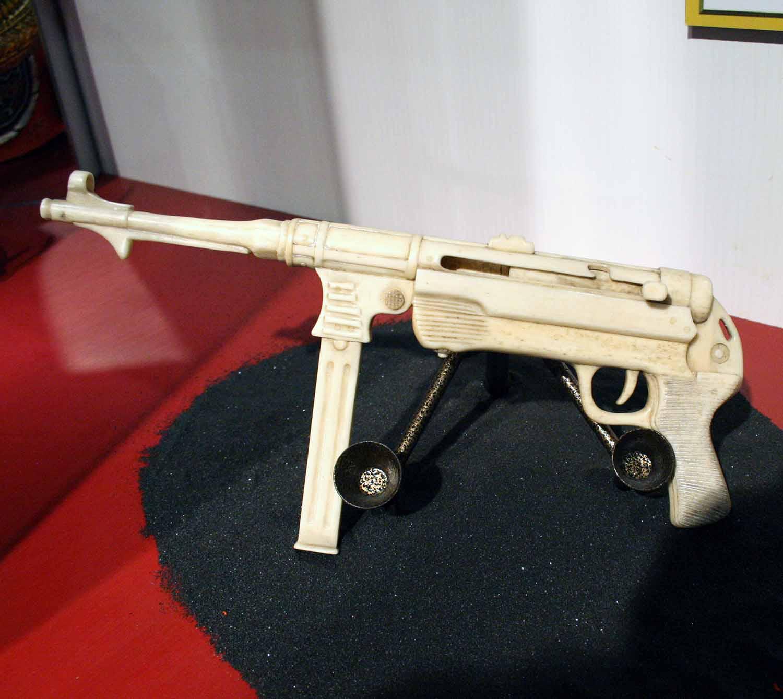 bone gun