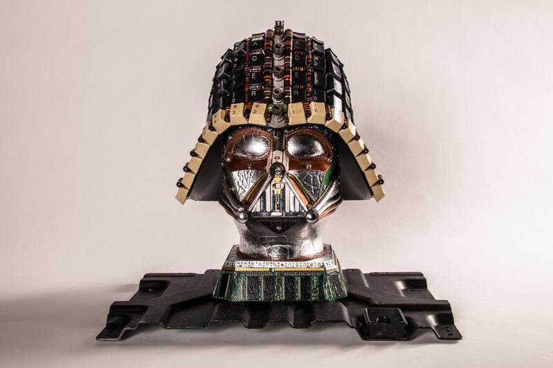 computer parts vader helmet