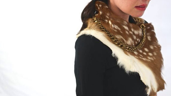 roadkill fur scarf
