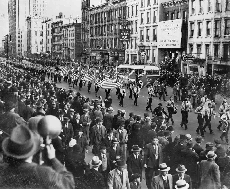 Nazi parade Madison square garden
