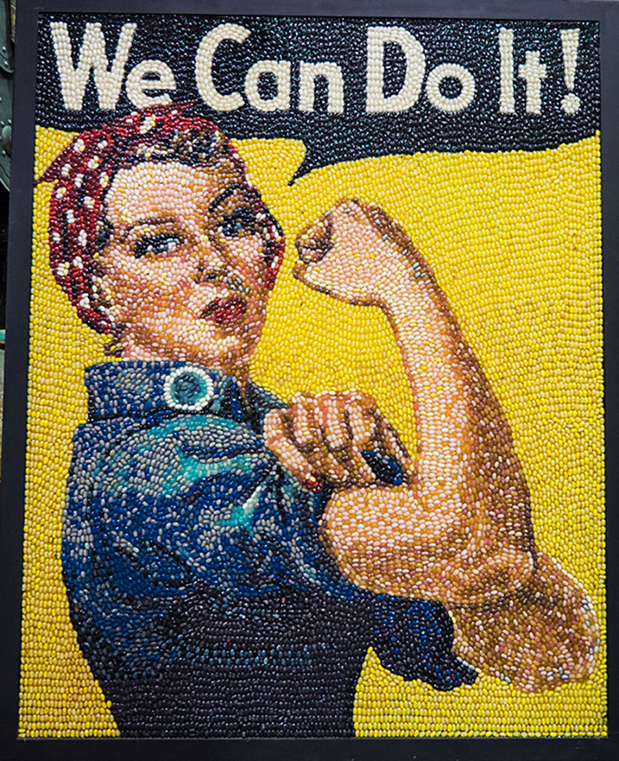 Real Life Rosie the Riveter