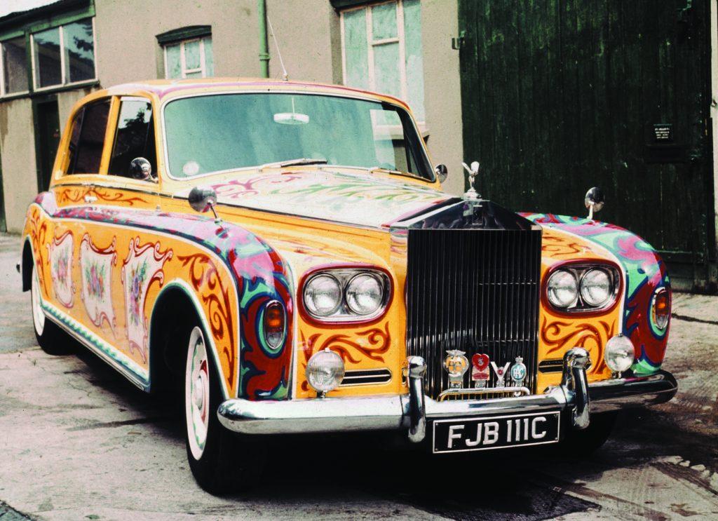 John Lennon's Painted Rolls Royce