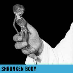 shrunken body