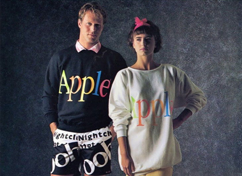 Apple Inc Yes That Apple Had A Clothing Line