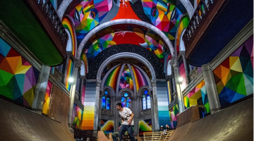 100-Year-Old Church Converted Into Skate Park