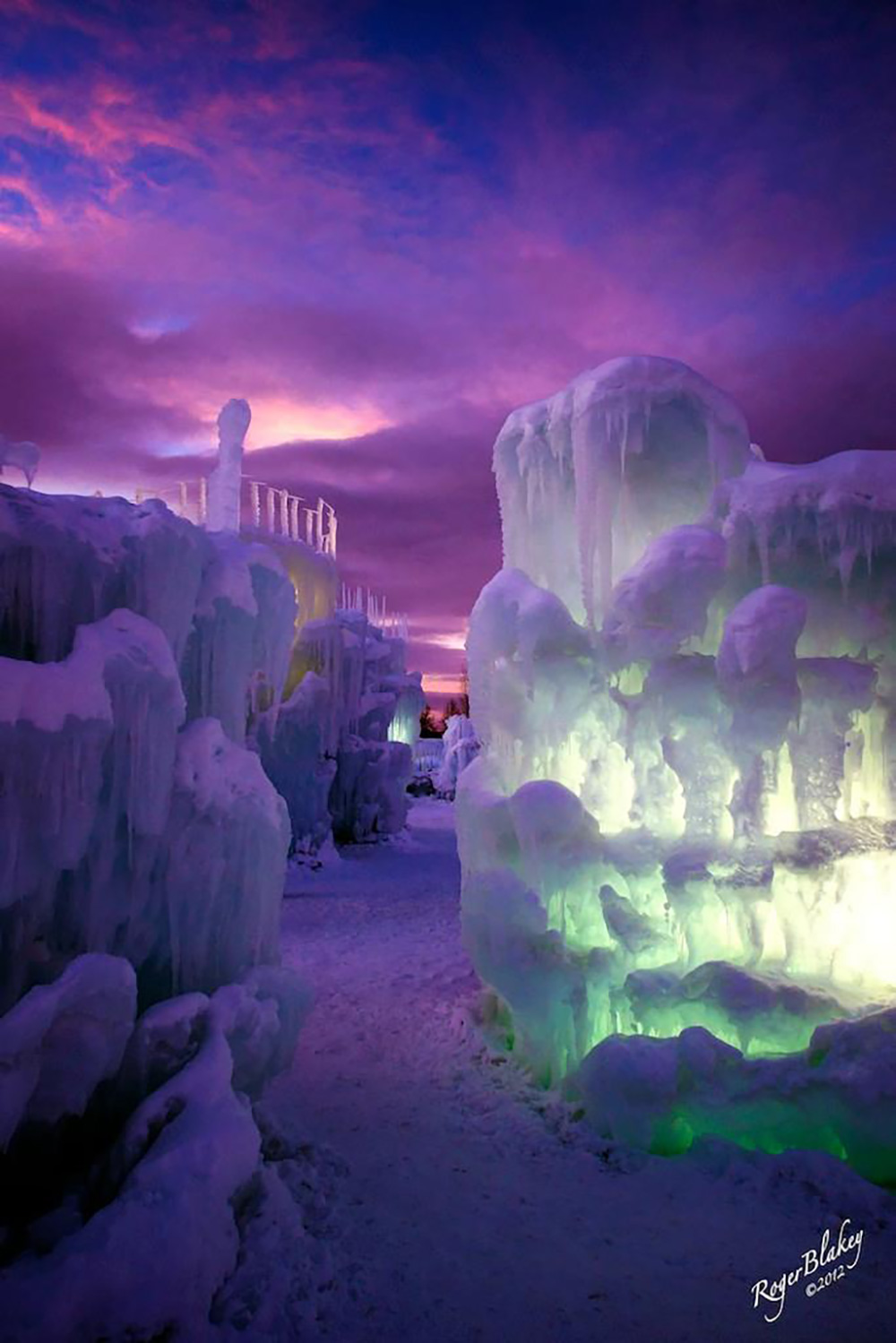Come Play In Giant Ice Castles