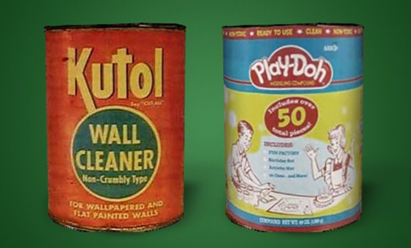 Play Doh Was Originally Sold As Wallpaper Cleaner
