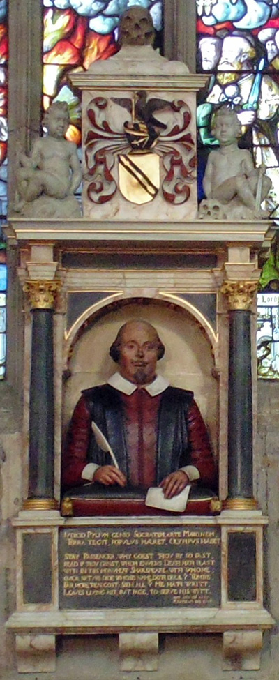 Shakespeare's Funerary Monument|CC Tom Reedy