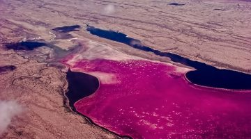 Kenya's Massive Soda Lake