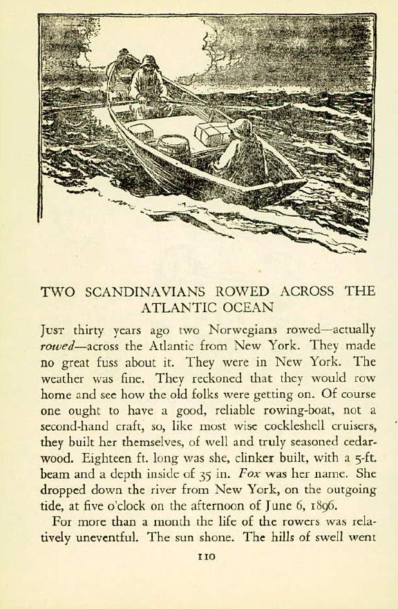 Scandanavian Rowers