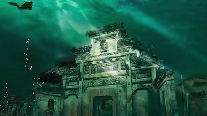 Underwater cities. Real Life Underwater Cities to Rival Atlantis