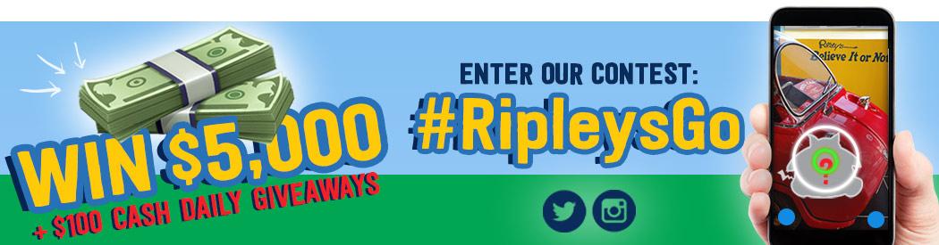 #RipleysGo Contest