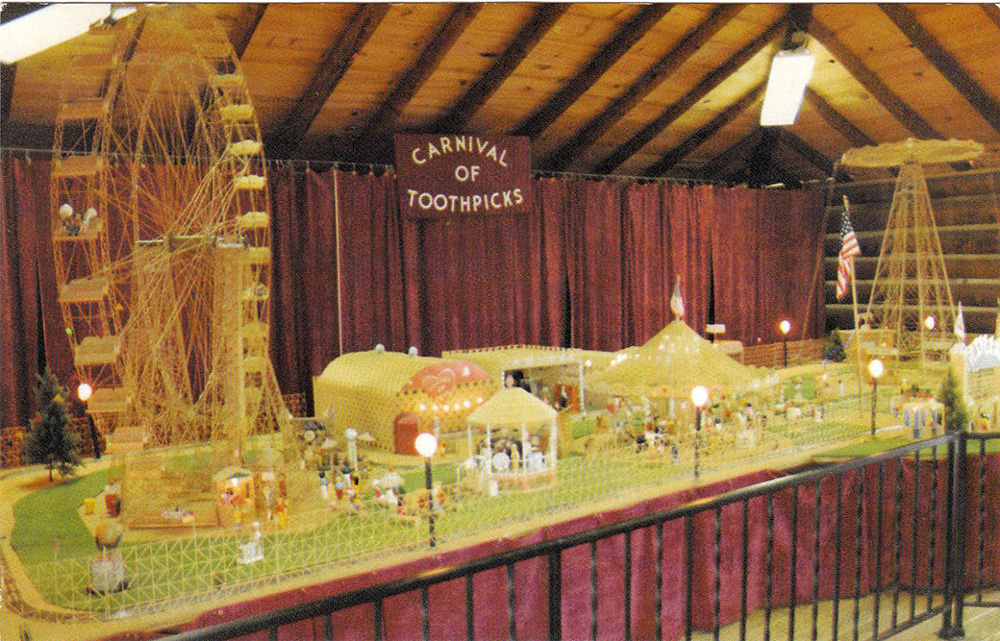 Toothpick Carnival
