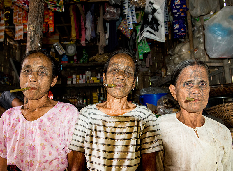 the disappearing tradition of the lai tu chin tribe