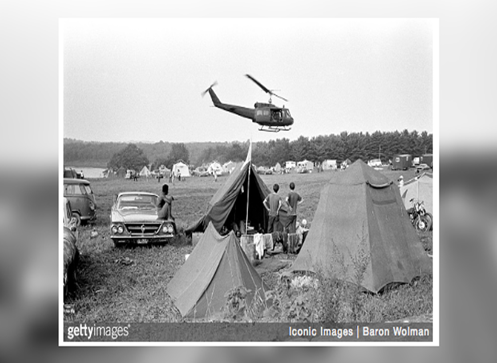 Image result for helicopters evac woodstock