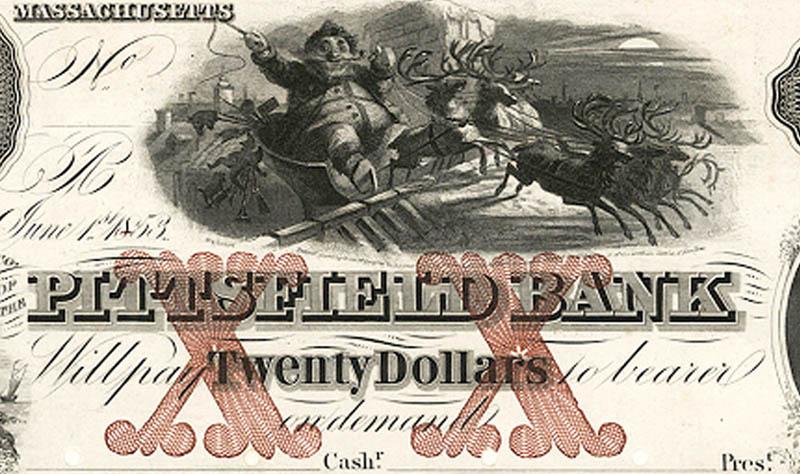 santa money