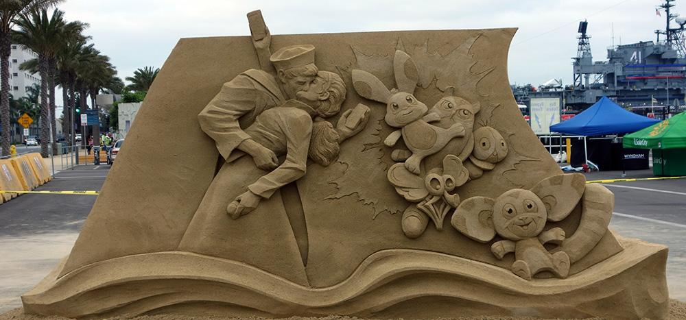 sand sculpting