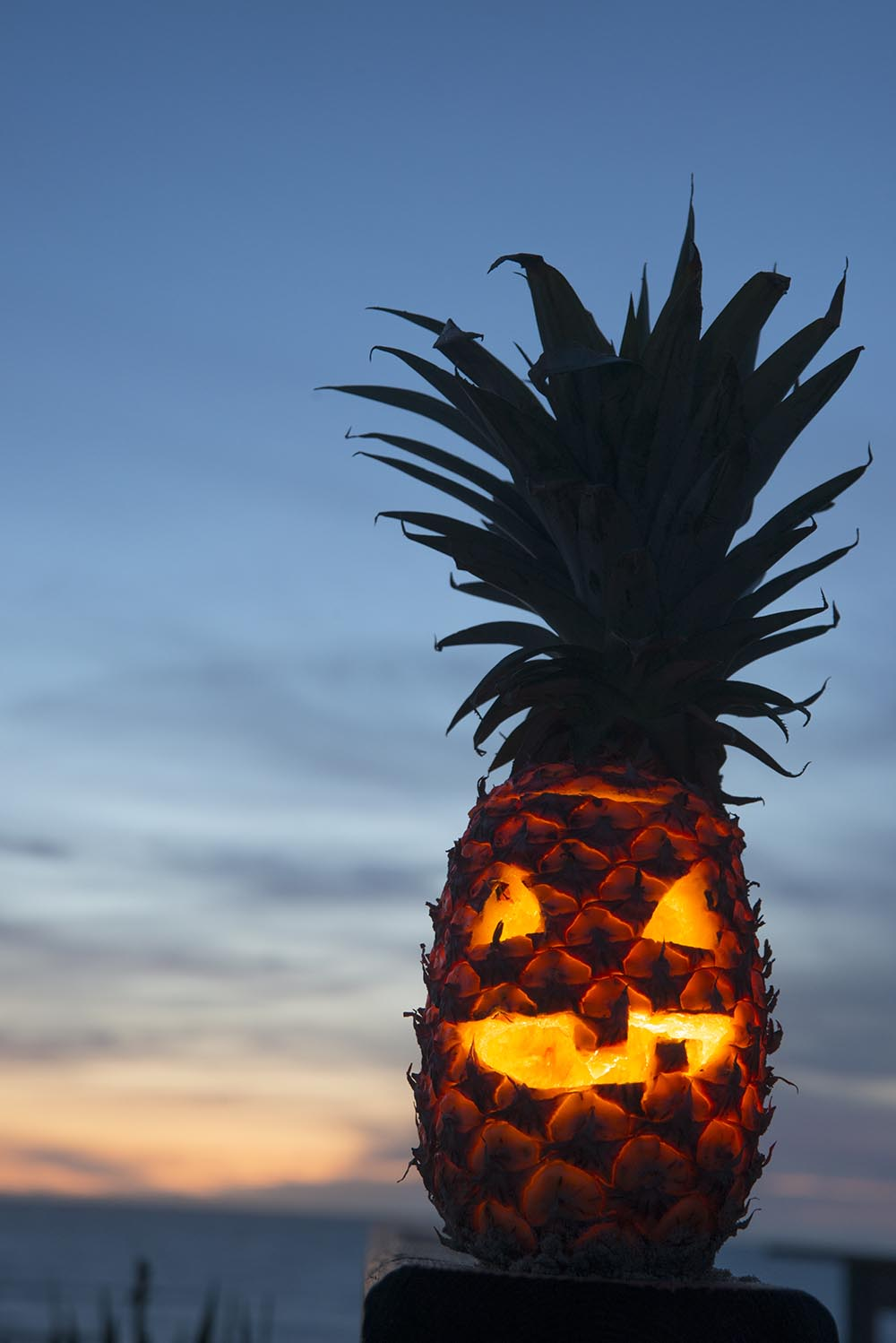 Meet the Pumpkin's Punk Brother: the Pineapple Jack-O'-Lantern