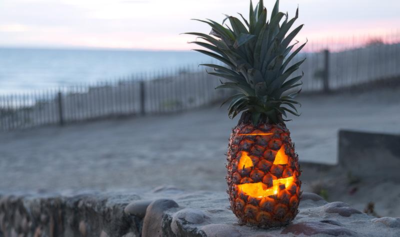 pineapple-jack-o-lantern