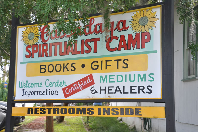 stemming from the religion spiritualism the town is populated by mediums who communicate with spirits through many different senses or clairs hearing - Cassadaga Halloween