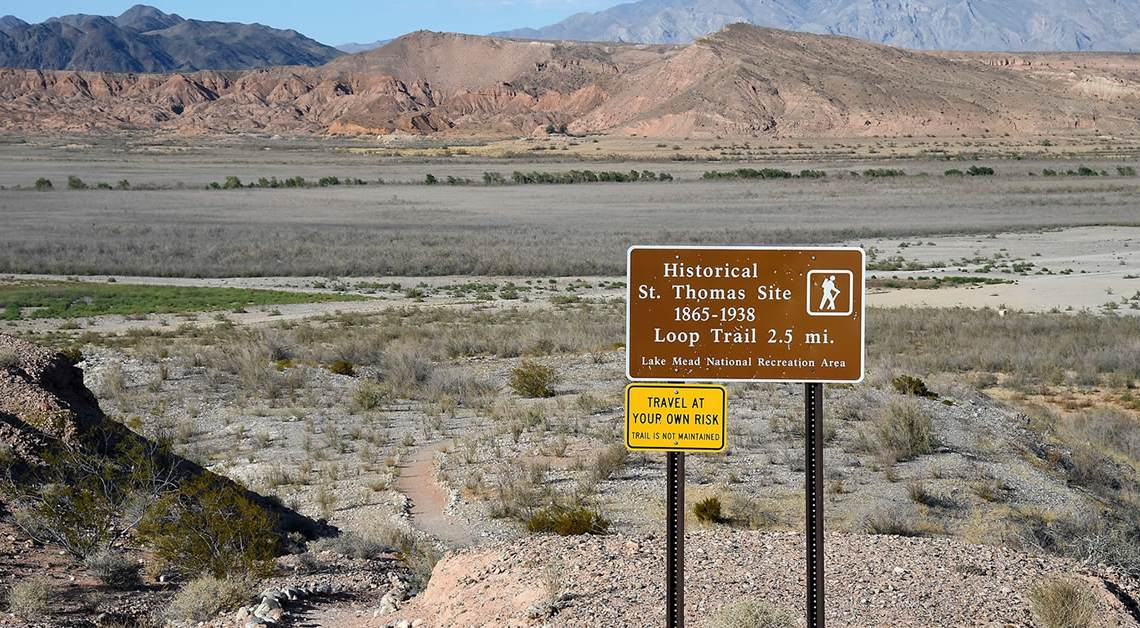 Lake Mead: Drowned Town Emerges from the Depths