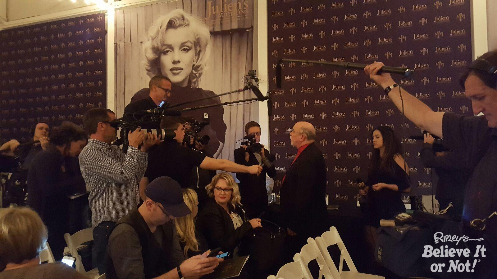Ripleys Marilyn Monroe Presidnt Dress Auction