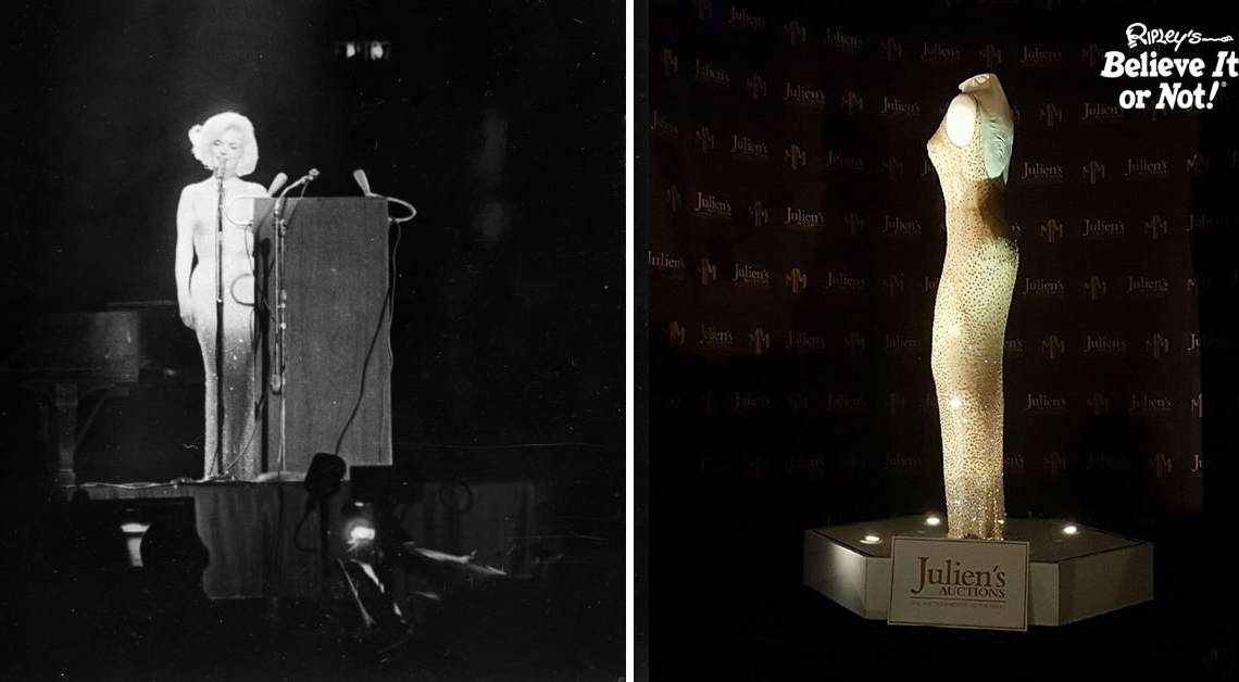 Ripley's Believe It or Not! Buys Iconic Marilyn Monroe Dress at Auction