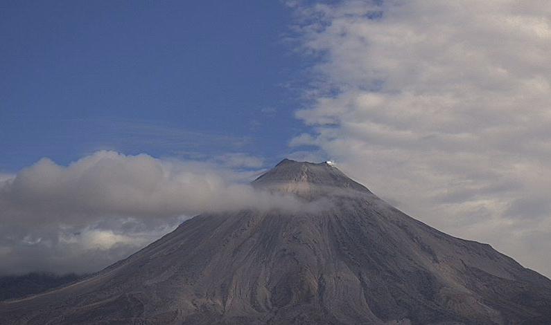 colima volcano after eruption
