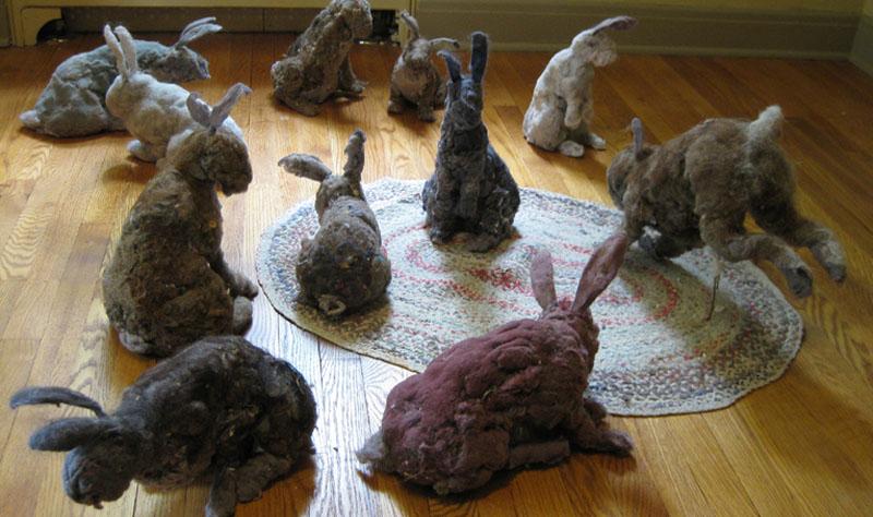 real dust bunnies