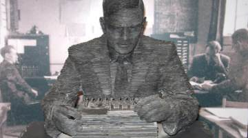 Alan Turing synth
