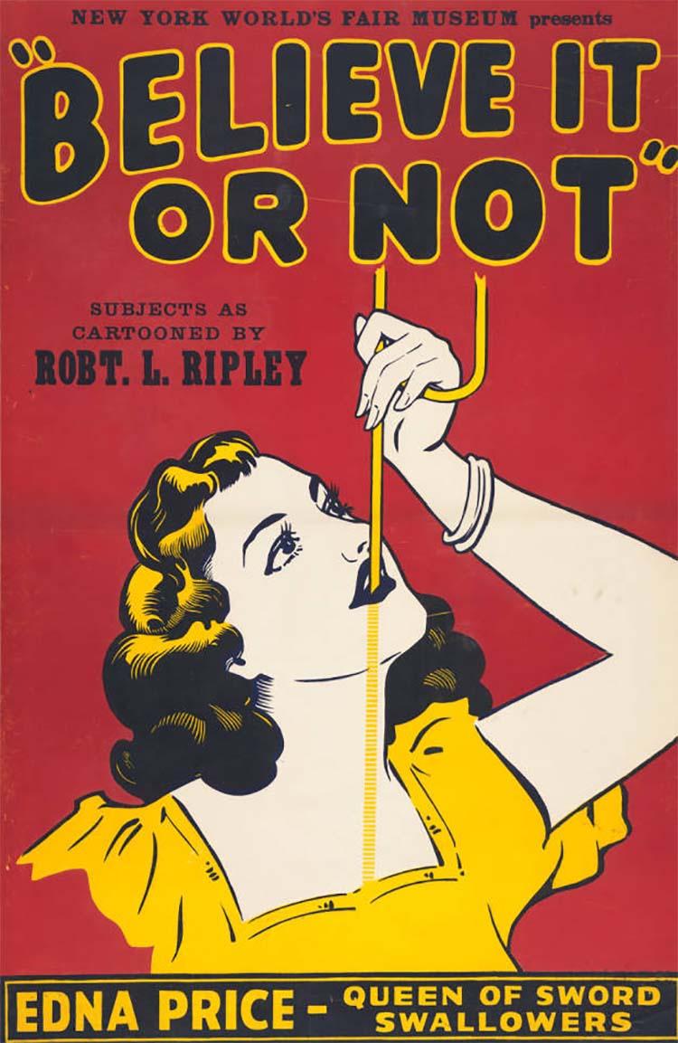 Edna Price World's fair poster
