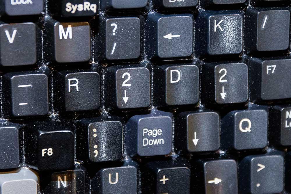 R2D2 hidden in keyboard portrait