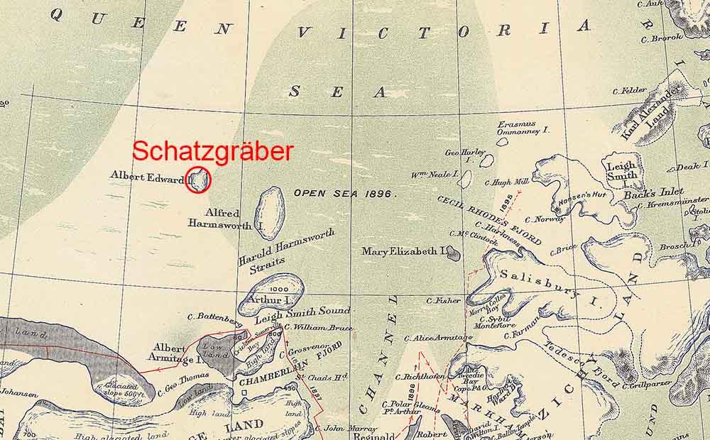 secret nazi base map