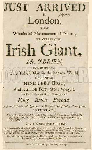 irish giant newspaper