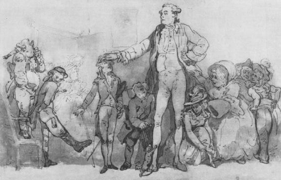 Charles Byrne the Irish Giant