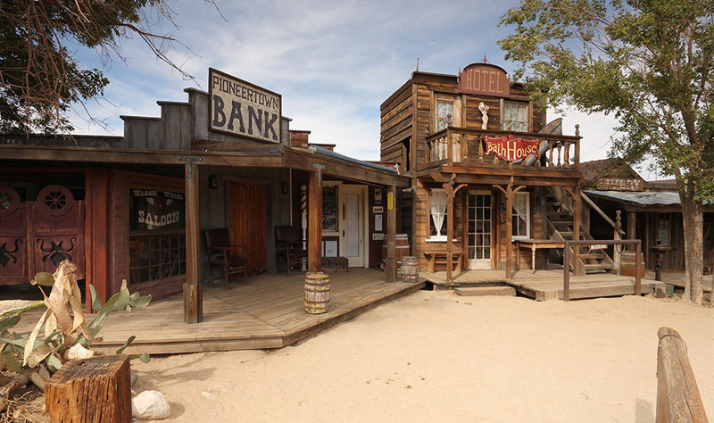 Pioneertown bank and bathouse