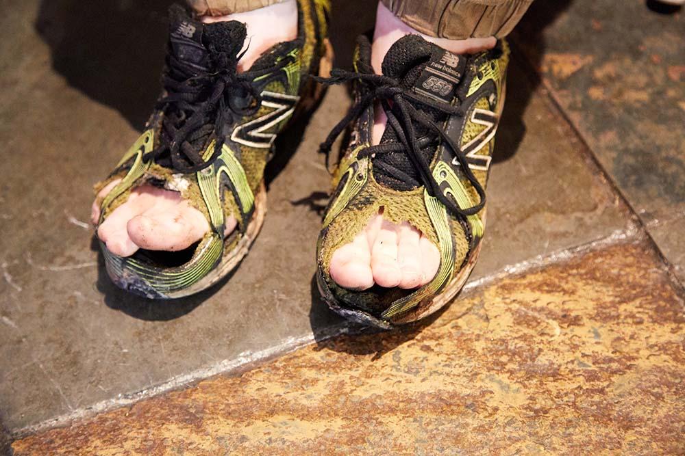 Rotten Sneaker Contestant