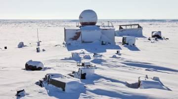 Arctic base.