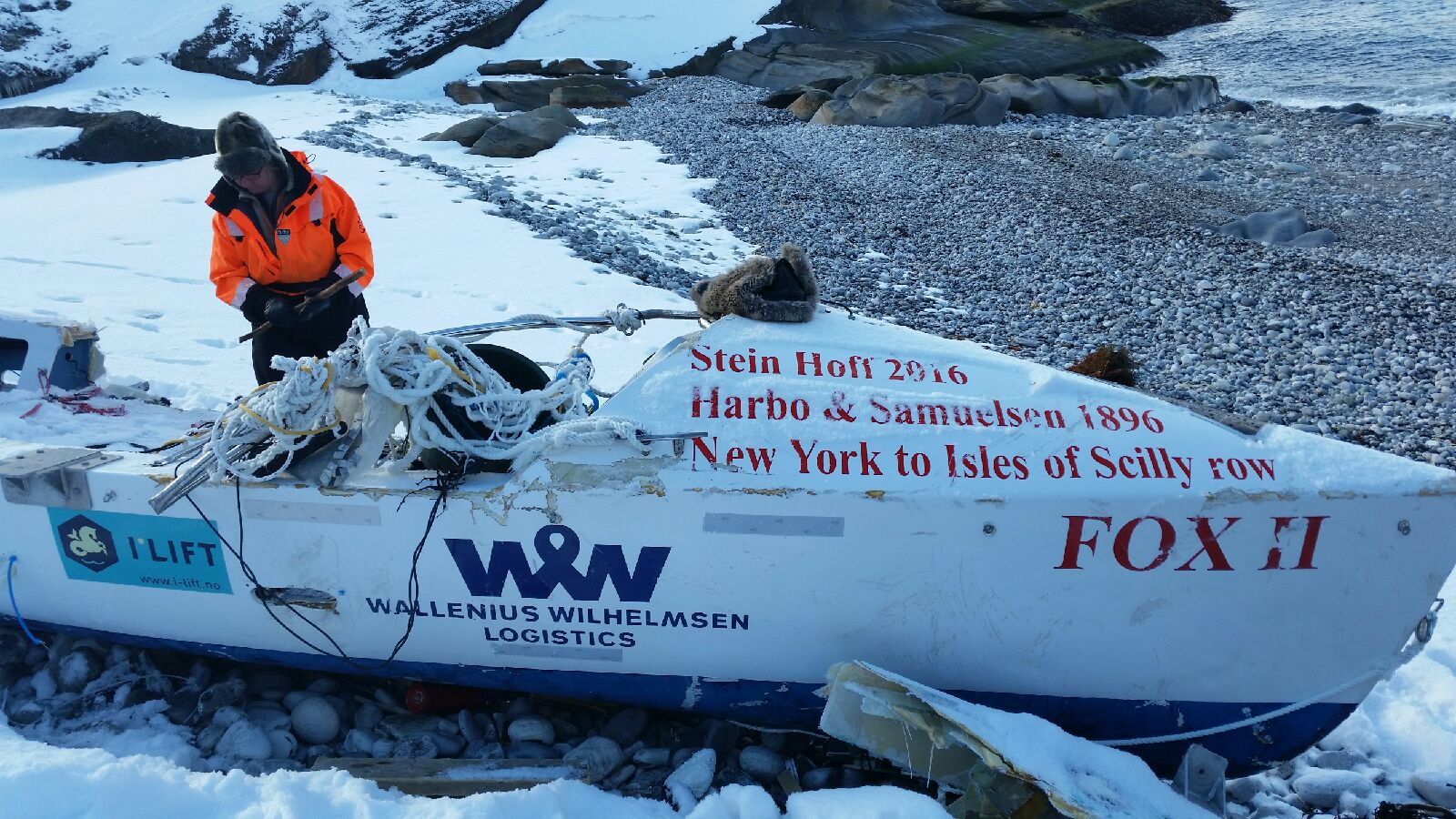 the shipwrecked fox ii