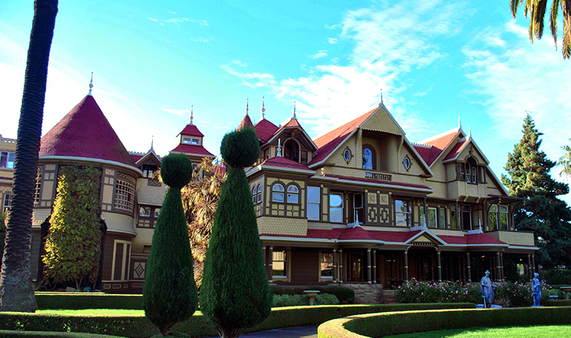 Welcome to the Winchester Mystery House
