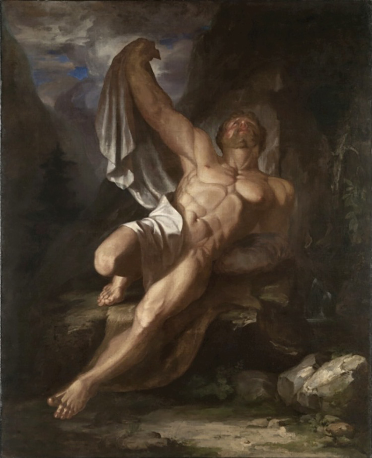 Dying Hercules by Samuel Morse